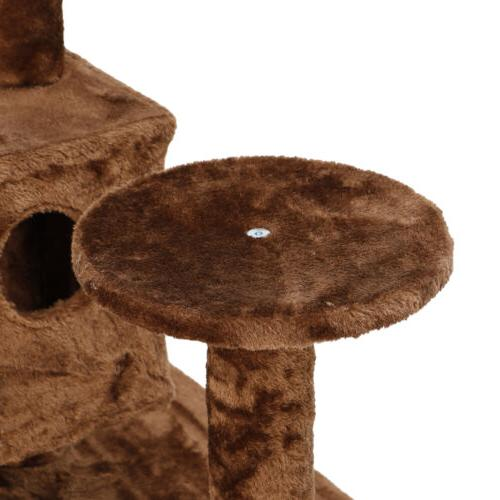 """Large Playing 53"""" Tree Tower Activity Center For Brown"""