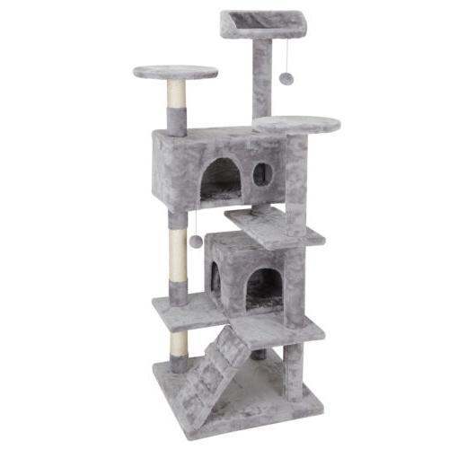 "53"" Cat Post Condo Playhouse Ladders"