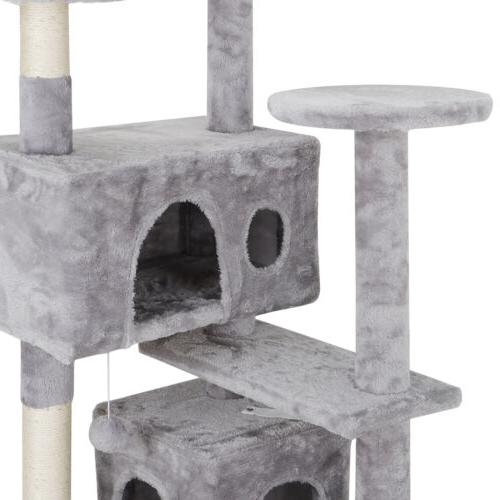 """53"""" Scratching Post Playhouse W/ Ladders"""