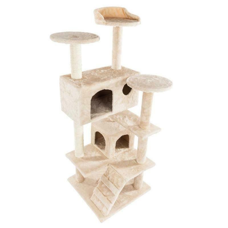 Pet Tower 36-80 Inches Pet Cat Tree Shelf C