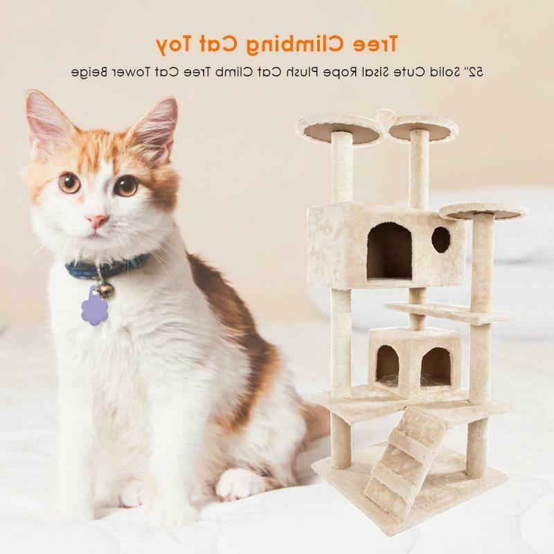 Pet Tower 36-80 Inches Pet Cat Tree Towers Shelf