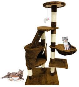 Large Cat Tree Tower Kitten Condo Scratching Furniture Pet H