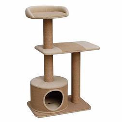 "Piller - PetPals 3 level Jute Made Cat Furniture; 22x15x39"""