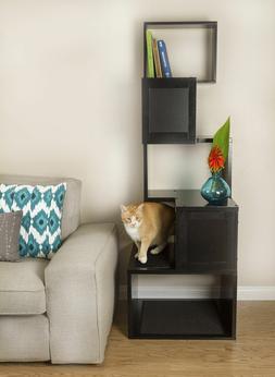 THE SEBASTIAN MODERN CAT TREE - WHITE OR BLACK-*FREE SHIPPIN